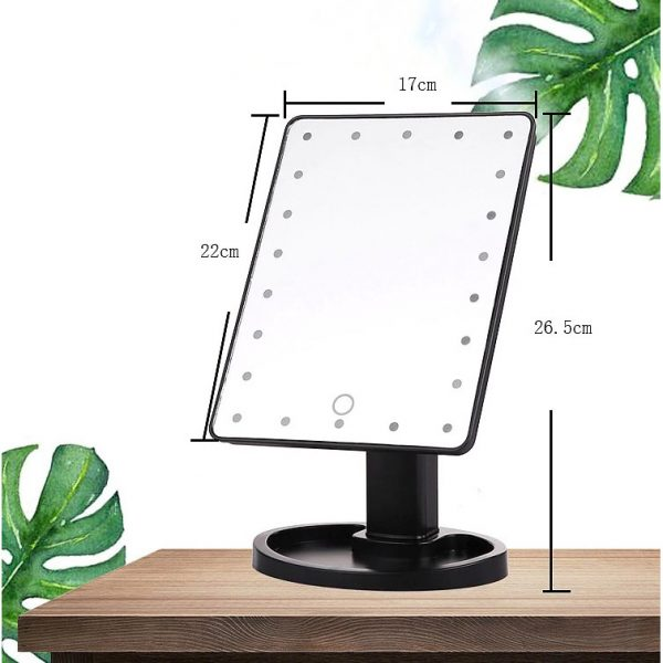 22 LED Touch Screen Mirror (4)
