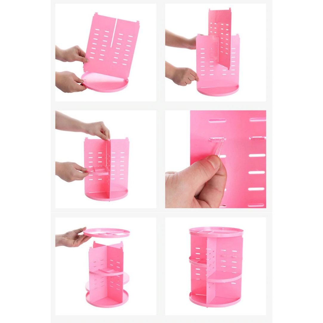 Rotating Makeup Organiser Classic Cosmetic Beauty Boutique